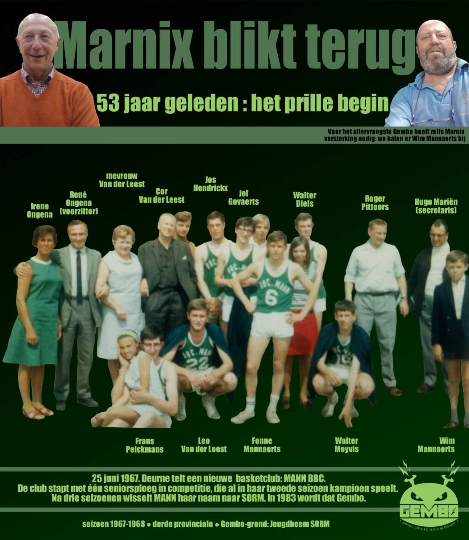Marnix blikt terug - 1967