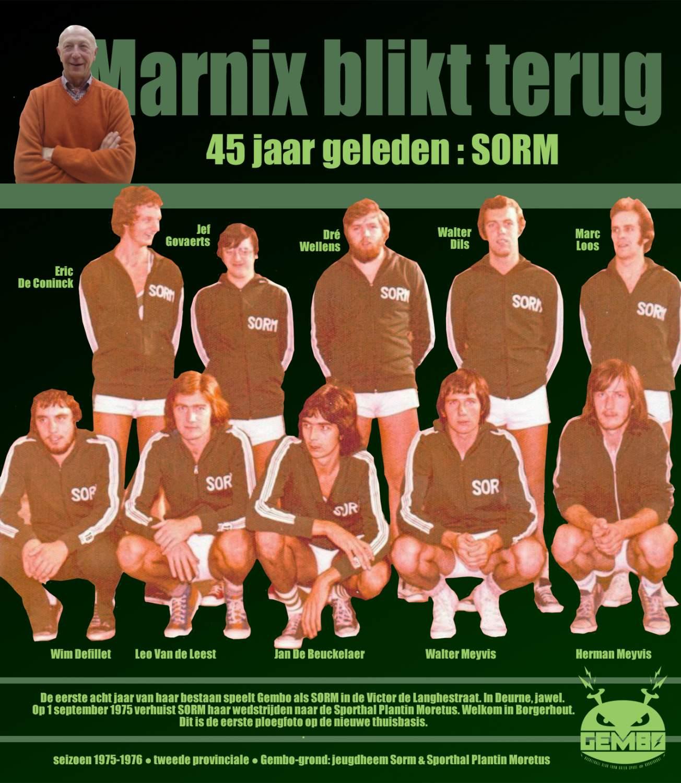 Marnix blikt terug - 1975