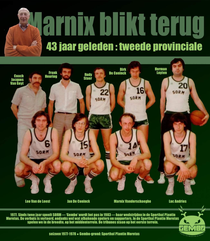 Marnix blikt terug - 1977