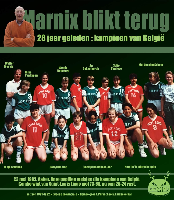 Marnix blikt terug - 1992