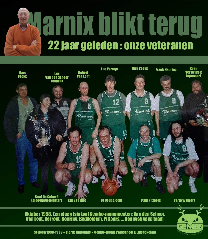 Marnix Blikt Terug - 1998 Veteranen