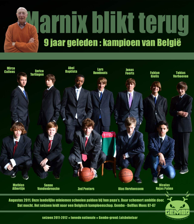 Marnix blikt terug - 2011
