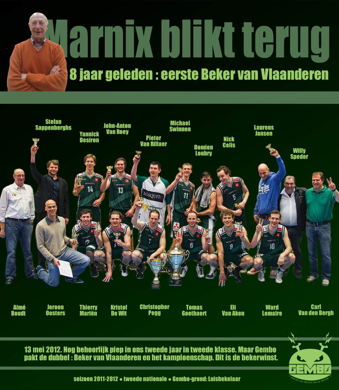 Marnix blikt terug - 2012